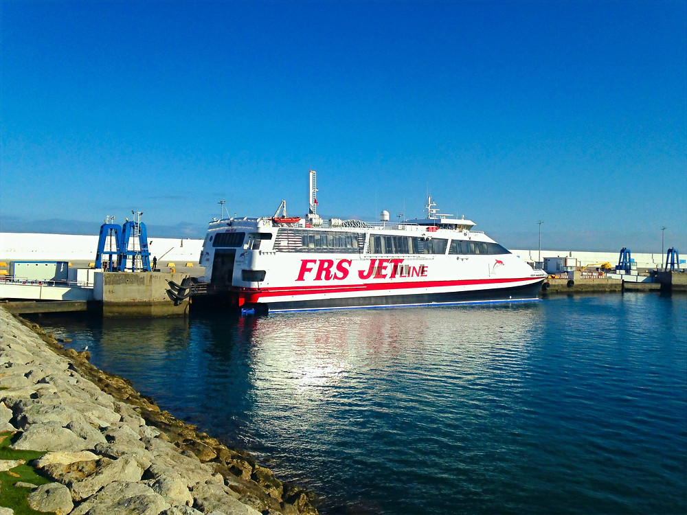 FRS Ferry Tangier Morocco to Tarifa Spain