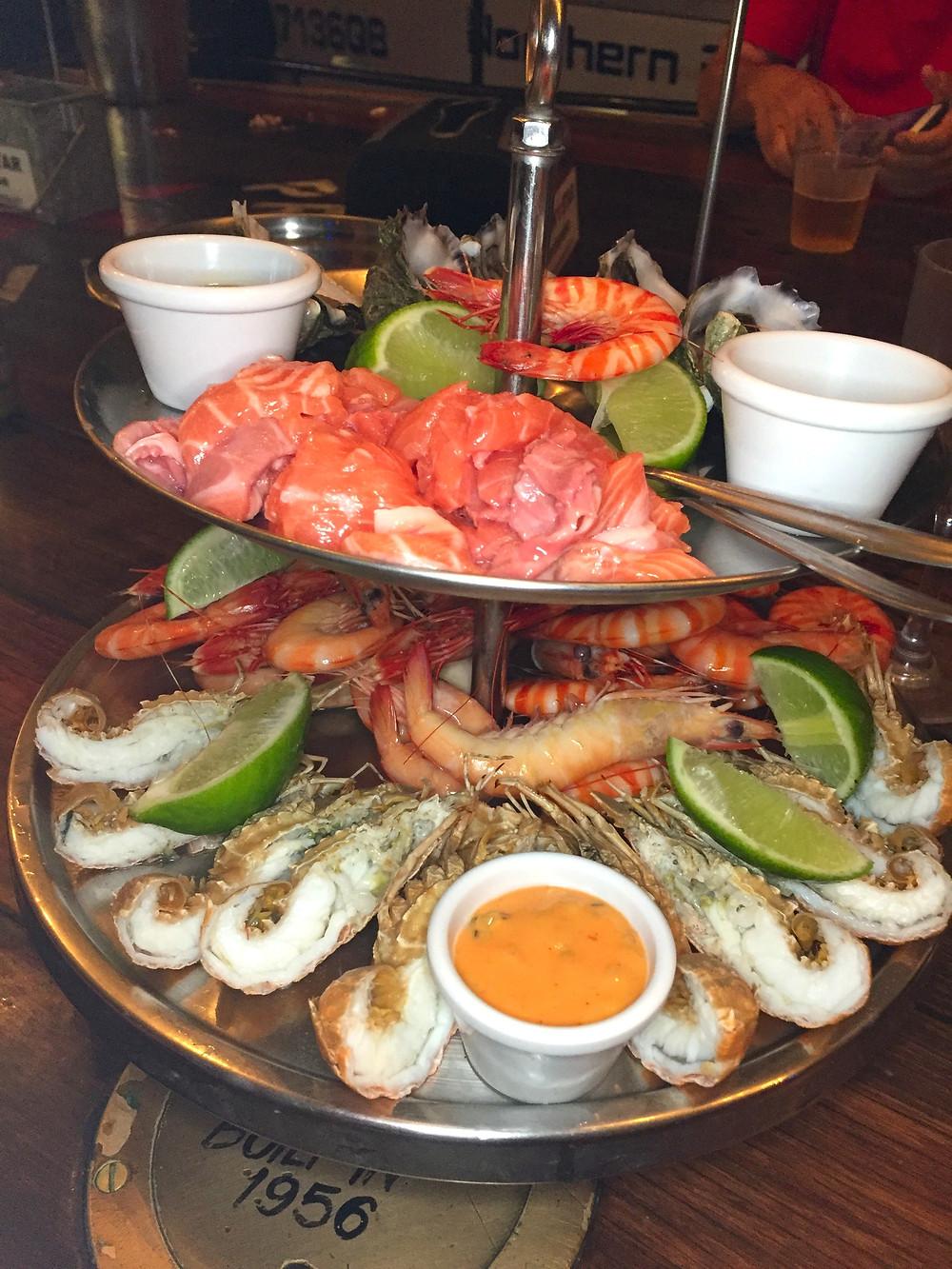 Prawn Stars Seafood Jumbo Platter