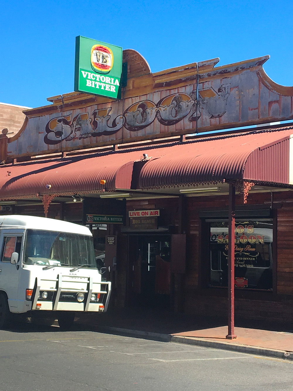 Bo's Saloon, Alice Springs Northern Territory