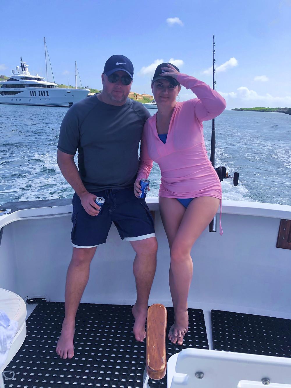Sportfishing for sailfish in Curacao