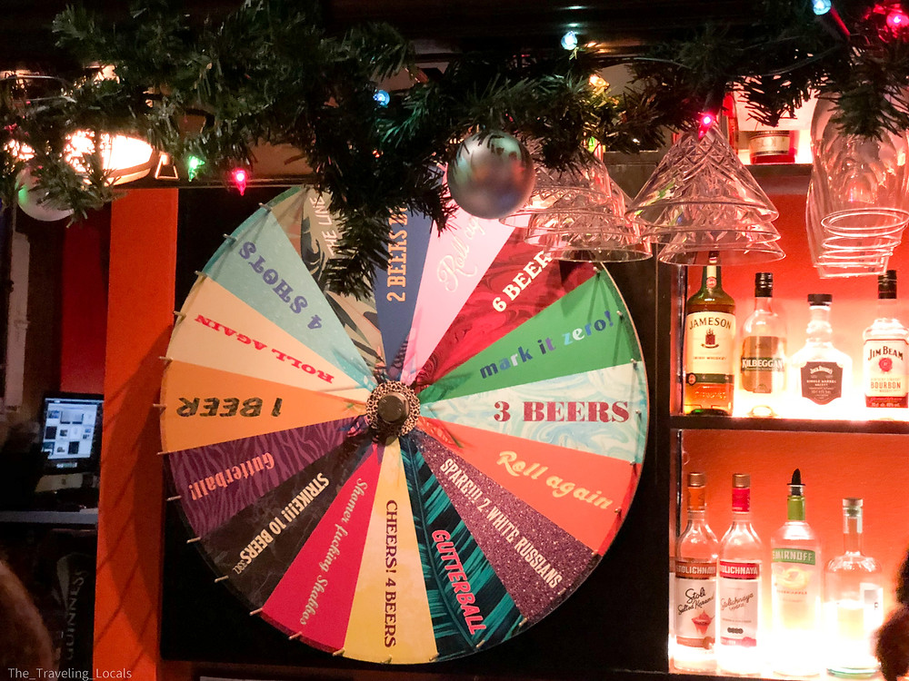 Spin the wheel for free beers, Iceland