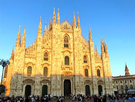 Milan Italy, Walking in Da Vinci's Steps