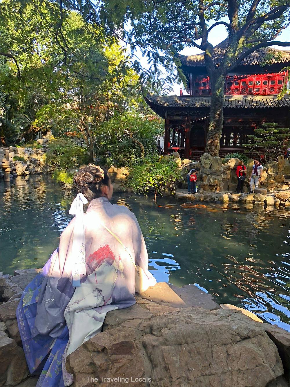 Photoshoot in Yu Garden Shanghai China, The Traveling Locals