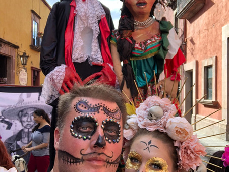 The Day of The Dead in San Miguel de Allende, Mexico