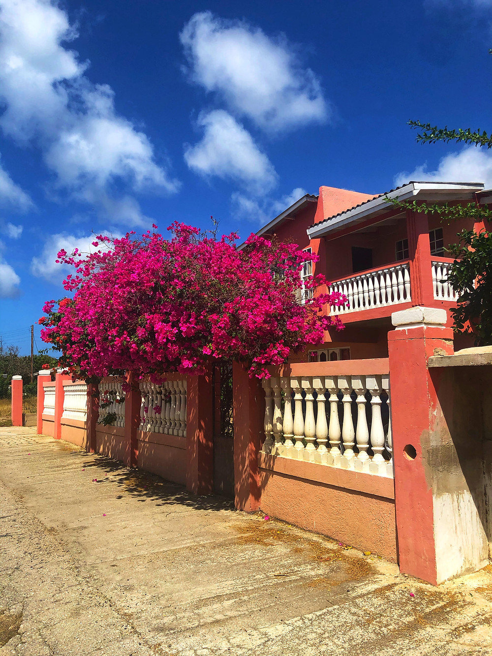 Colorful houses in Curacao