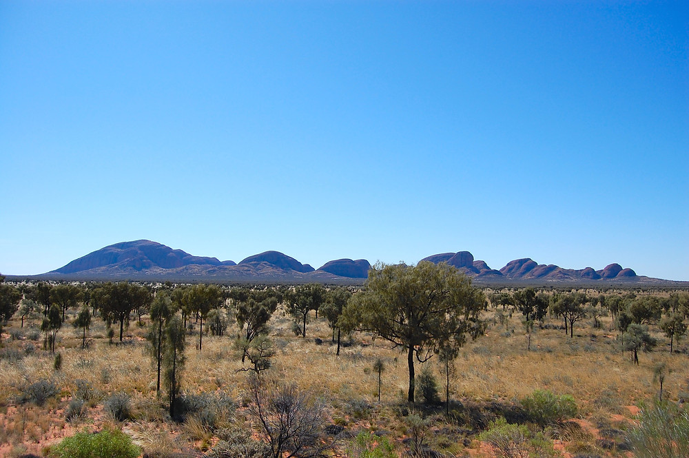 Kata Tjuta and Mt Olga outback northern territory