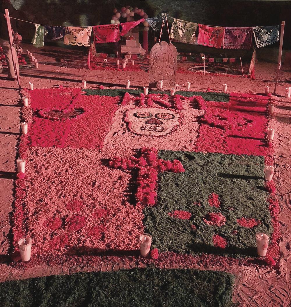 Ofrenda Alter Grave, Hotel Real de Minas, day of the dead, San Miguel de Allende