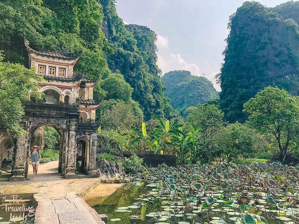Bich Dong Pagoda Cam Toc Vietnam