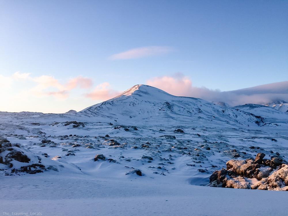 Stunning Frozen Iceland Landscapes