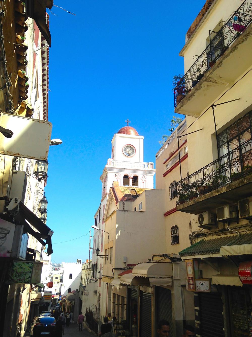 Church in the Medina Tangier Morocco
