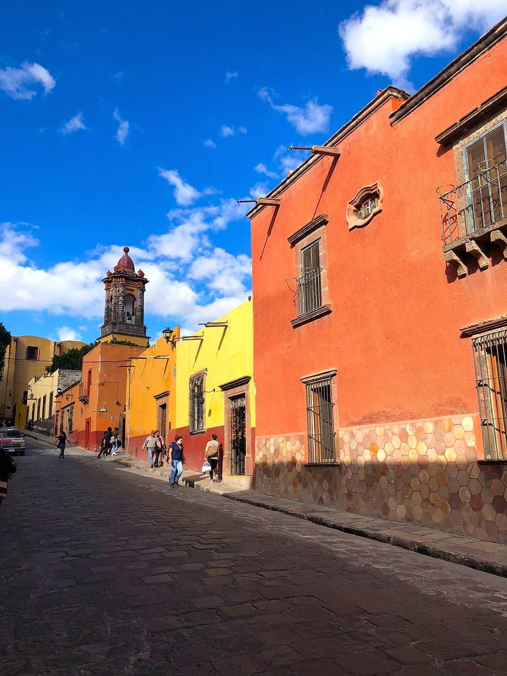 Amazing Colored Buildings and Cobblestone Streets of San Miguel de Allende