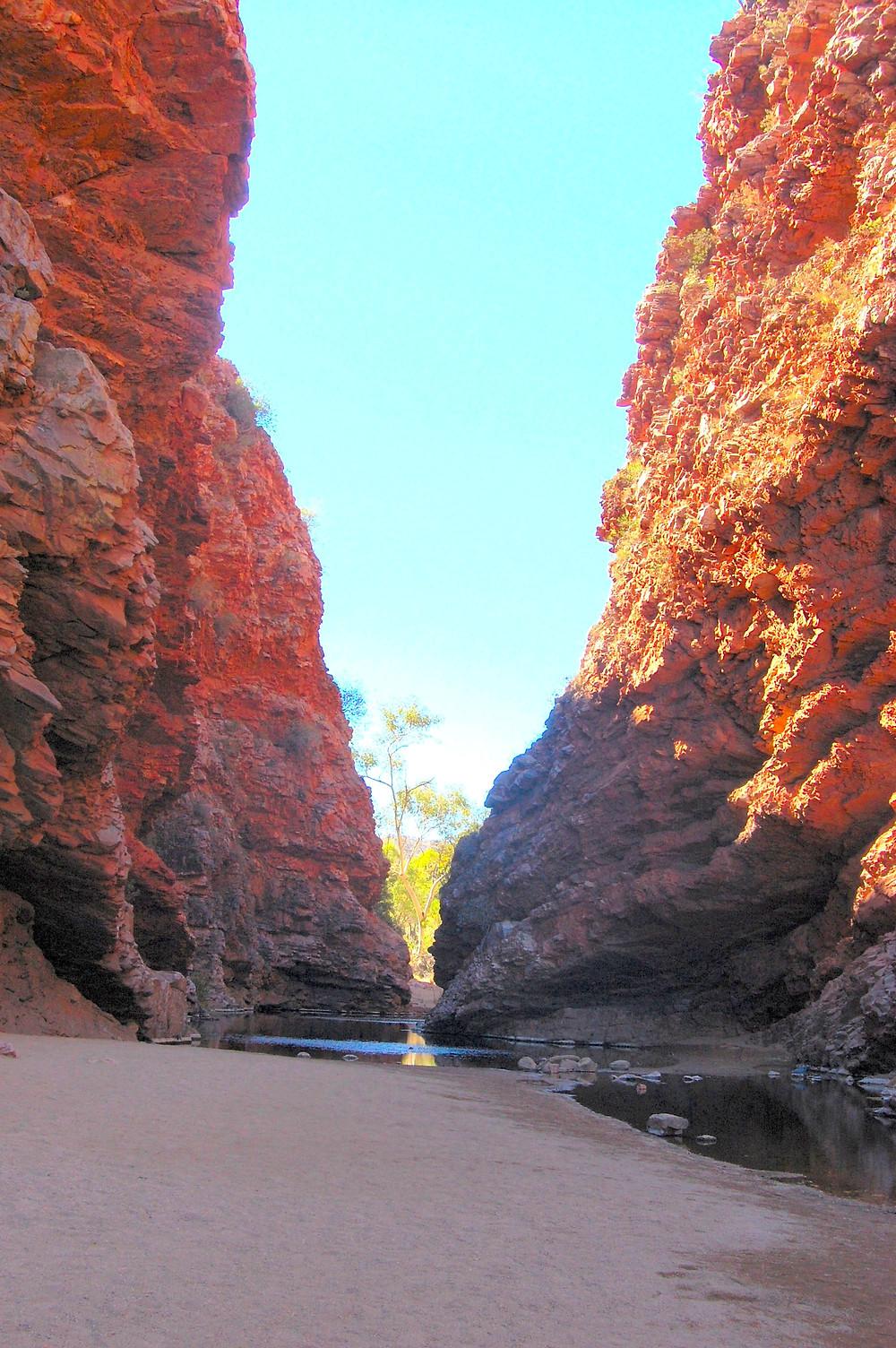 Simpson's Gap MacDonnell Range Northern Territory