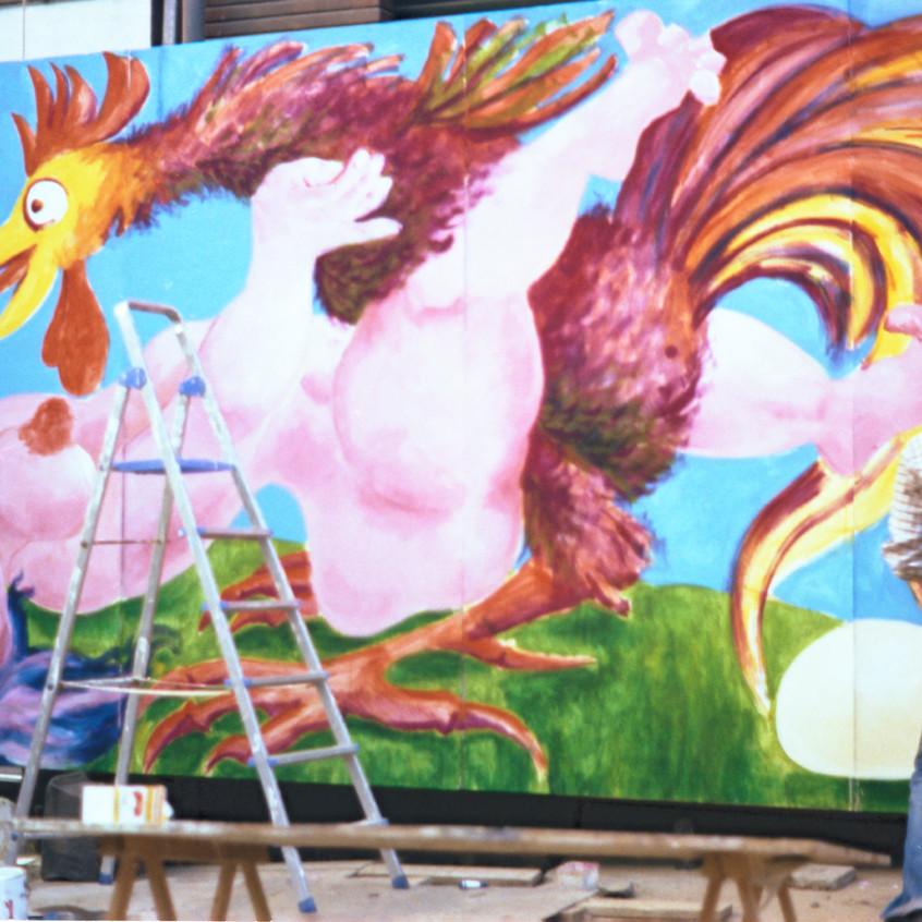 Willy Wolsztajn a peint