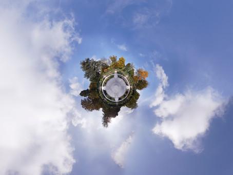 Nature débordante et construction humaine, la planète