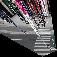 Le point de fuite à l'infini, le passage et les ombres justes, rue Lafayette à Paris