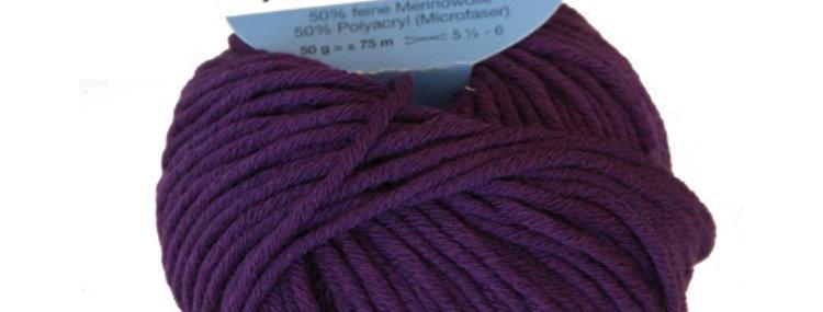 """Loop-Schal """"QUÉBEC"""" - violett"""