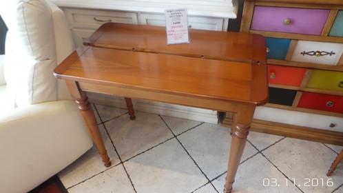 table console de style louis philippes en merisier massif - Table Merisier Massif