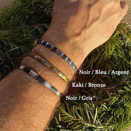 Bracelet Homme PERLES DE VERRE