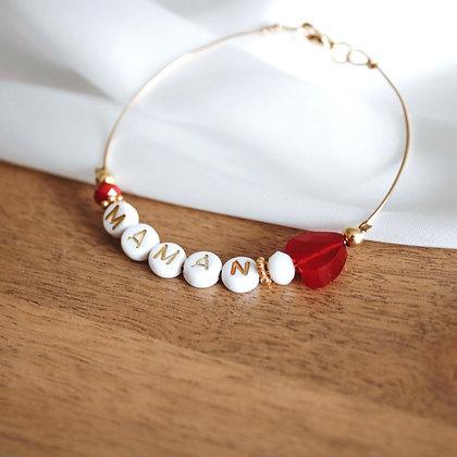 Bracelet Jonc Maman Gold Filled