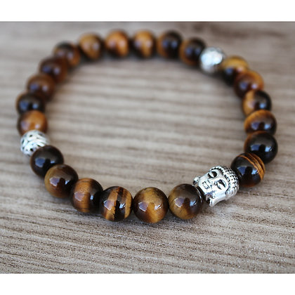 Bracelet Homme Oeil de Tigre Dharma