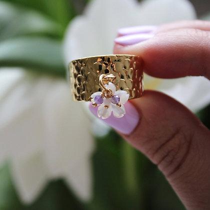 Bague Tahiti en Gold Filled
