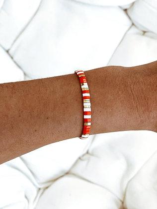 Bracelet orange corail Vitamine