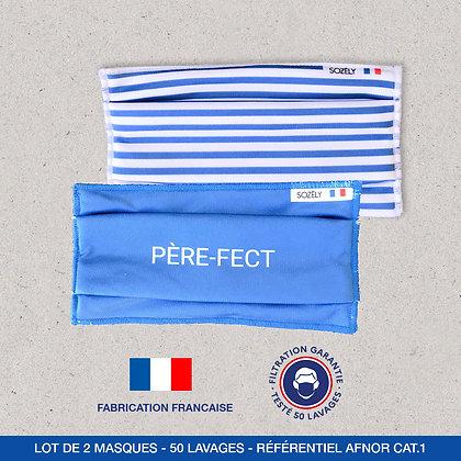 """Le Pack Masque """"HOMME BLEU"""""""