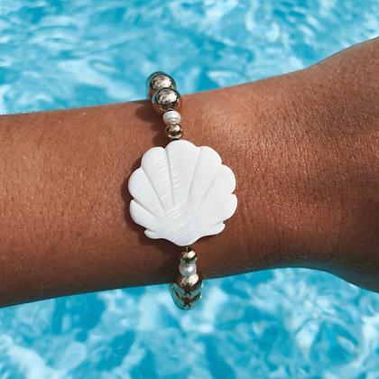 Bracelet Coquillage Doré