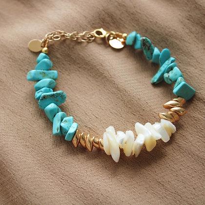 Bracelet chips nacre Bora Bora