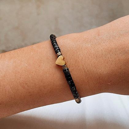 Bracelet Agathe Noir