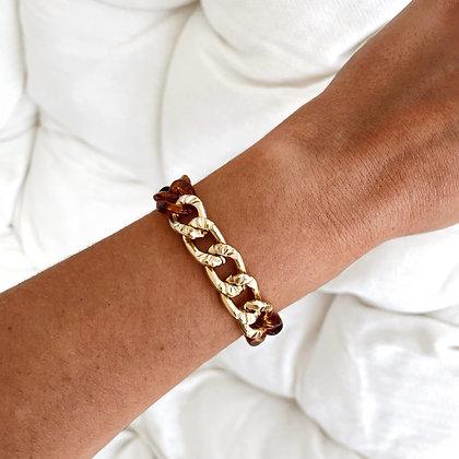 Bracelet maille Cacao