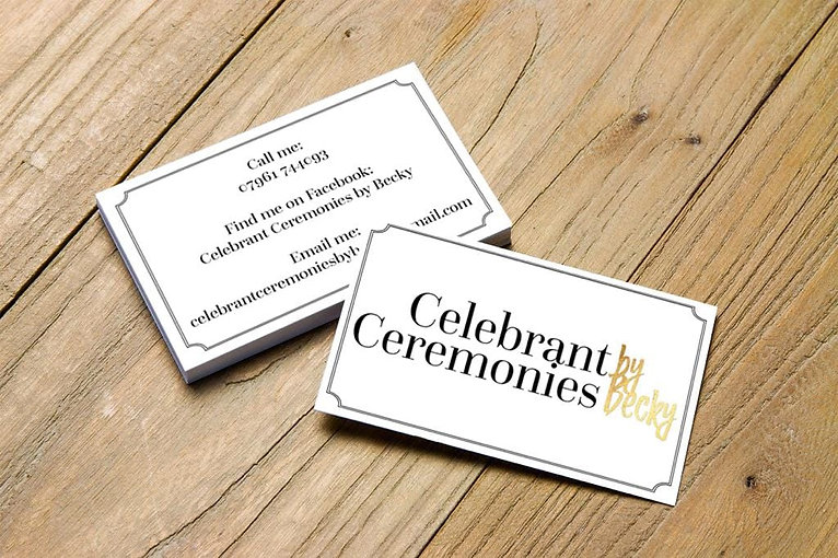 For more information about a celebrant led ceremony, please contact me.