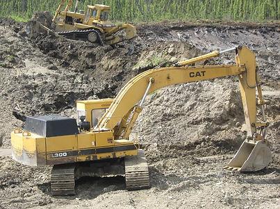 EL300 Caterpillar Excavator