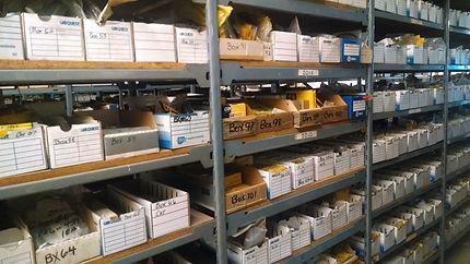 Heavy Equipment Parts Bins
