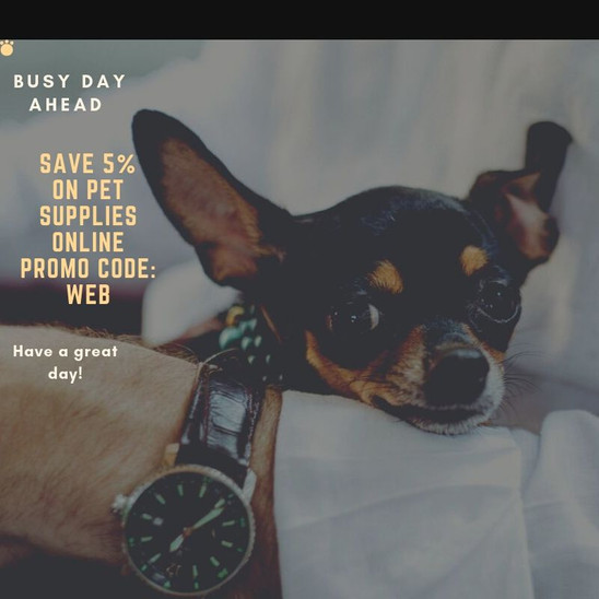 Save 5% on Pet Supplies online Promo cod