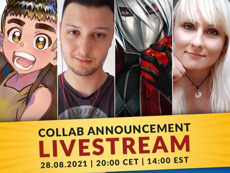 Collab Announcement Livestream