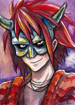 Bastard watercolor portrait 2016