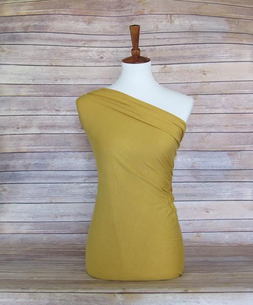 Mustard - Rayon Spandex - Solids
