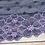 """Thumbnail: Stretch Lace - Purple Polk Dots - 8.75"""""""