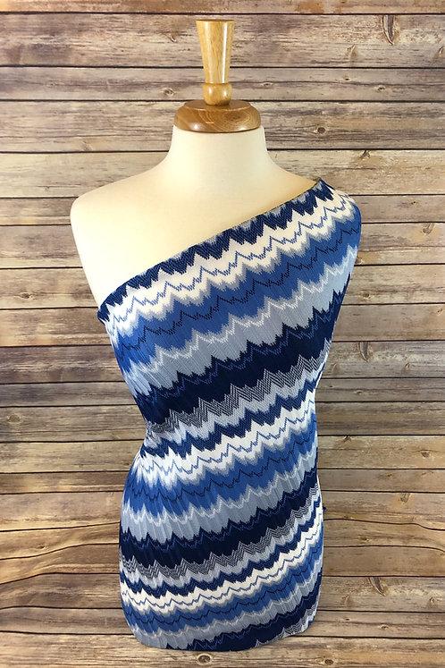 Denim Crochet Sweater Knit