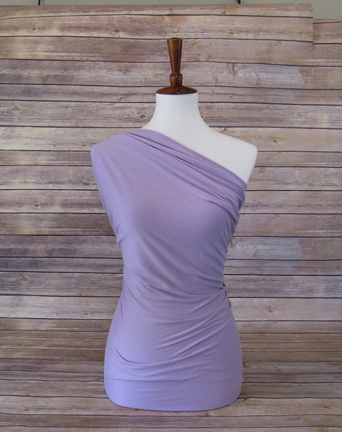 Lavender - Double Brushed Poly - Solids
