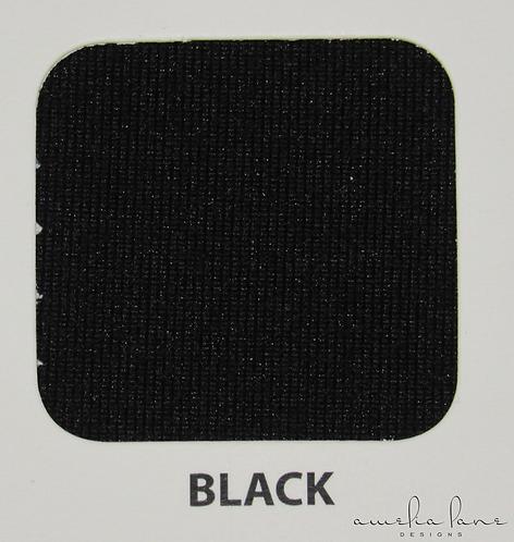 Black - Athletic Brushed Poly - 190GSM - PRE-ORDER