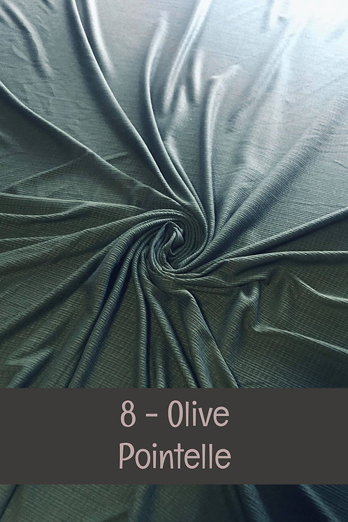 Olive - Pointelle - Solids