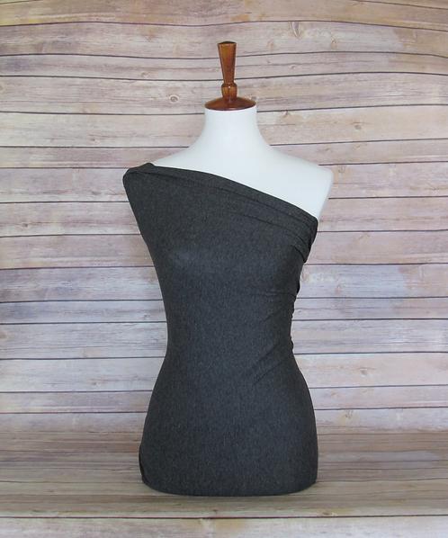 Charcoal - Lightweight - Sweater Knit