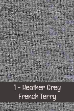 Heather Gray - French Terry - Solids