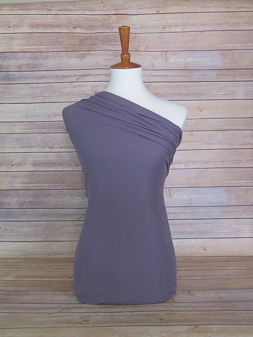 Dark Lavender - Double Brushed Poly - Solids