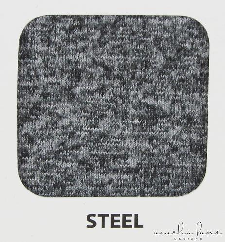 Steel - Athletic Brushed Poly - 190GSM - PRE-ORDER