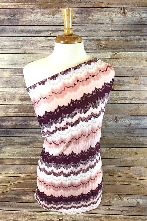 Blush Crochet Sweater Knit