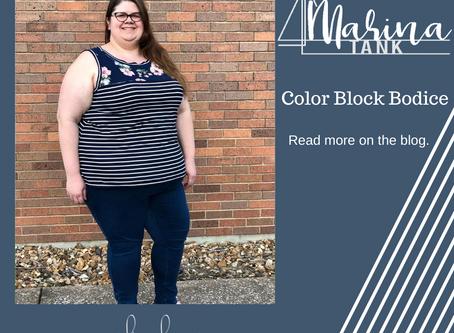 Marina Tank- Colorblocked Top