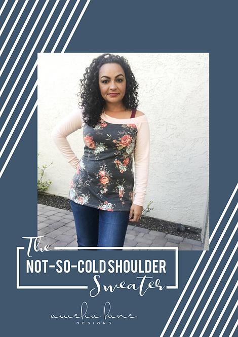 The Not-So-Cold Shoulder Sweater